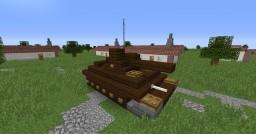 T14 Assault Tank (1.5:1) Minecraft Map & Project