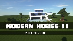 MODERN HOUSE 1.1 Minecraft Map & Project
