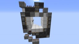 Redstone 3x3 Pistone Door Minecraft Blog Post