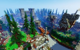 City of Vorha Minecraft Map & Project