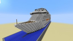 Grand Divina Cruise Ship Minecraft Map & Project