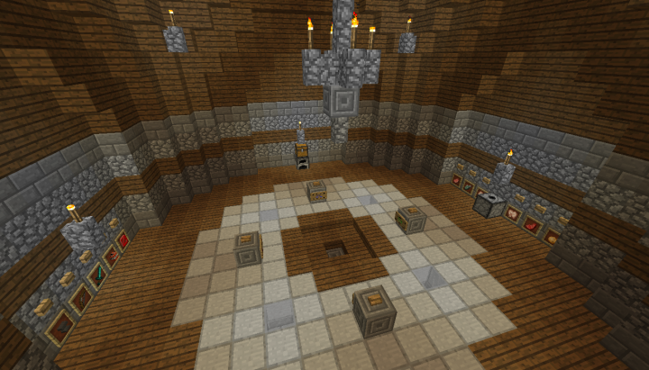 The Spawn Room with a few other random things