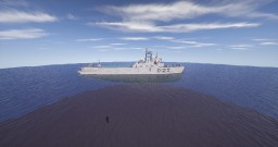Destroyer Type 30-class DDG Minecraft Map & Project