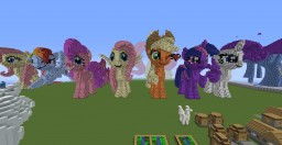 MY LITTLE PONY World (1.8.9 - 1.11.2) Minecraft Map & Project