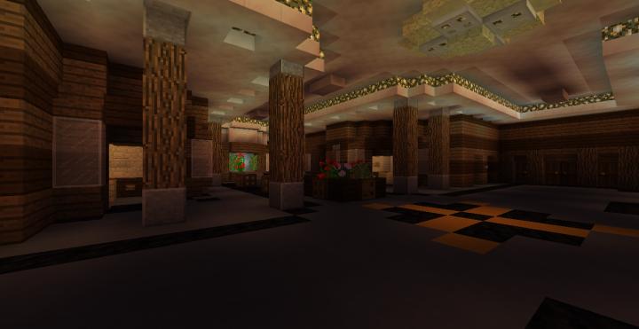 1st Class Main Foyer