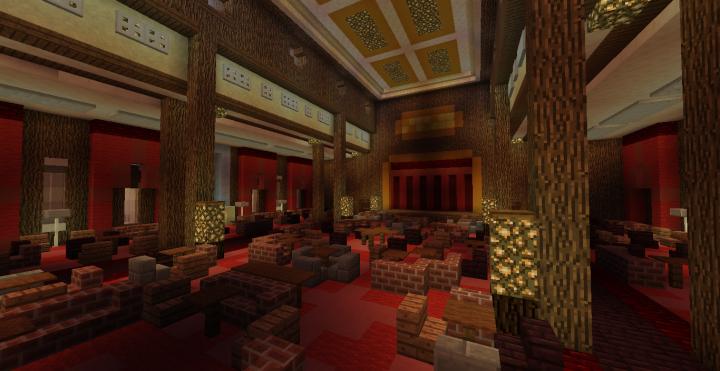 1st Class Main Lounge