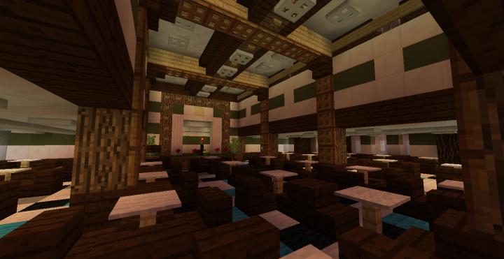2nd Class Main Lounge
