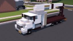 Wallboard Crane Boom Truck Minecraft Map & Project
