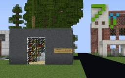 The Town Of Wendover | Beta 1.1 Stage (not the minecraft version 1.1) Minecraft Map & Project