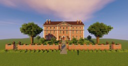 British 19th century Country House Minecraft Map & Project