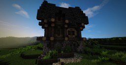 Little Medieval House Minecraft Map & Project