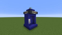 Bigger on the Inside Command Block Tardis! Minecraft Map & Project