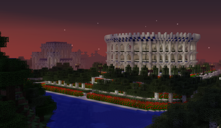 A stadium inspired by the Colloseum. Marked number 10 on the map.