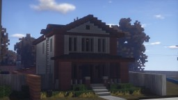 Traditional American Foursquare Minecraft