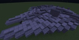 Star Wars Millennium Falcon 2 versions Minecraft Map & Project