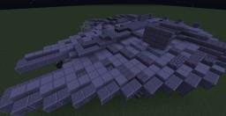Star Wars Millennium Falcon 2 versions Minecraft