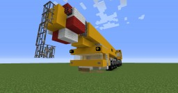 Truck Crane Minecraft Map & Project