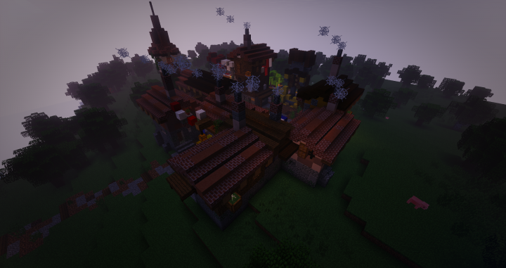 Popular Server Project : Płock Minecraft Messy Medieval Town