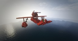 Porco rosso airplane - conquest reforged Minecraft Map & Project