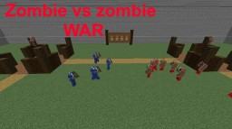 Zombie vs zombie war NO MODS  updated 1.12 Minecraft Map & Project