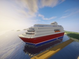 Amazing Cruiseship Minecraft Map & Project