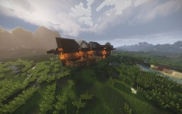 Wooden House Minecraft Map & Project