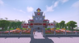 Fairy Tail Guild (Chisel and Bits) Minecraft Map & Project