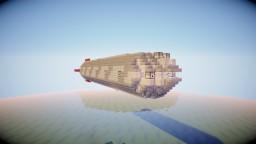 Movecraft Airship - Skull Fleet Corvette Minecraft Map & Project