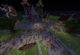 Medieval Factions Spawn Minecraft Map & Project