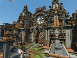 Steampunk Project Minecraft Map & Project