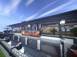 Tropia International Airport - Departure Terminal A Minecraft Map & Project
