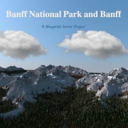 Banff, Alberta - Blueprint Server Project - Mountains and Towns Minecraft