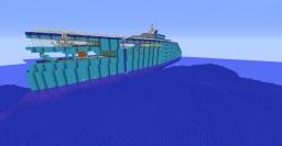 Superyacht - Dolabra Oceanum - Oceanum Class Minecraft Map & Project