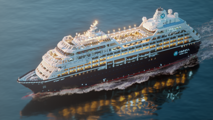 Popular Project : Cruise ship - Azamara Journey { FULL INTERIOR + DOWNLOAD }