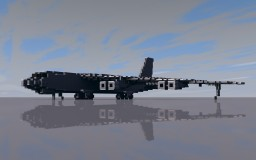 Boeing B-52H Stratofortress Minecraft Map & Project