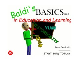 Baldis Basics Education and learning 1.12 Minecraft