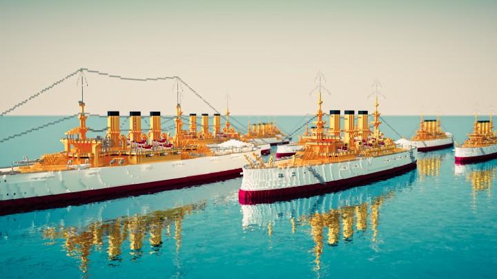Popular Project : [2:1] U.S. Great White Fleet
