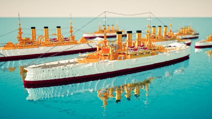 U.S.S Connecticuit Battleship No. 18