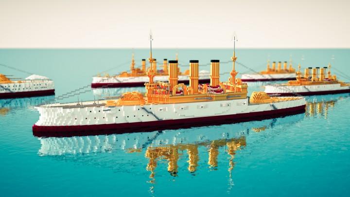 U.S.S Maine II Battleship No. 10