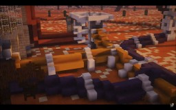A polluted world Minecraft Map & Project