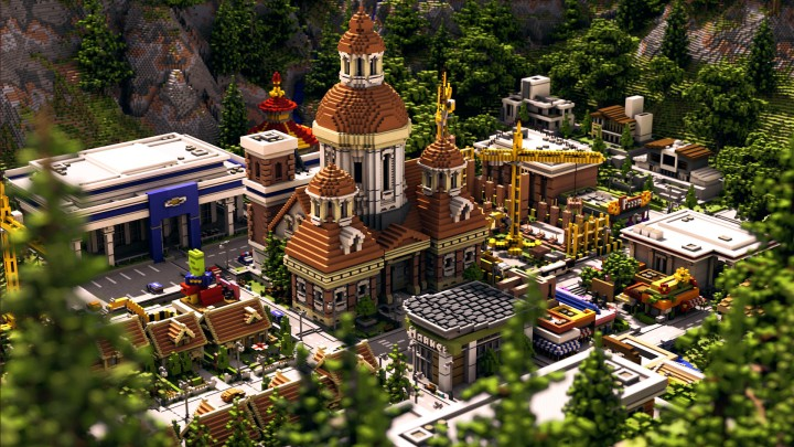 Popular Project : Reconstruction | Minecraft City