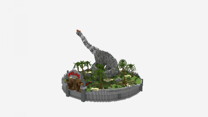 Popular Server Project : Welcome To Jurassic Park