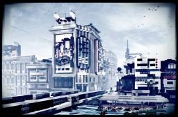 Ebisubashi, Dotonbori, Osaka, Japan Minecraft Map & Project
