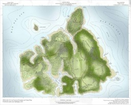 Jurassic Park: Isla Sorna live build in World painter on twitch and youtube Minecraft Map & Project