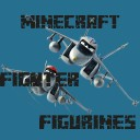 Minecraft 3D Mini FIghterPlanes Figurines Minecraft Texture Pack