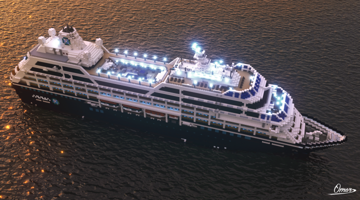 Render by Omardegante11 - Azamara Journey