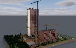Appartments Complex Gercen-Park status on 24 may 2018 Minecraft