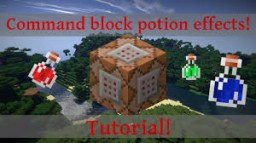 /execute Awesomeness (Commanded Potion Blocks) Minecraft