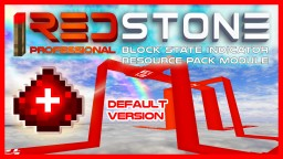 iREDSTONE [Default/Faithful] Ultraflat Redstone Wire with power level indicator; blockstate indicator resource pack [WiP] + Optifine Addon Minecraft Texture Pack