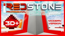 iREDSTONE [Modern HD version] | Power Level and other Indicators resource pack | [WiP] Minecraft Texture Pack